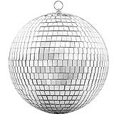 Bola de espejo – 20 cm Cool and Fun Silver colgante fiesta disco bola