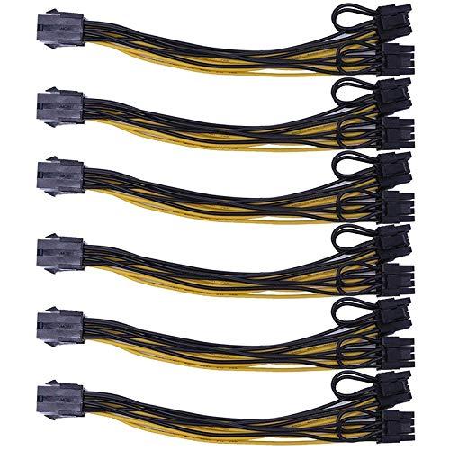 Mogzank 6 Pin zu Dual PCIe 8 Pin (6 + 2)...
