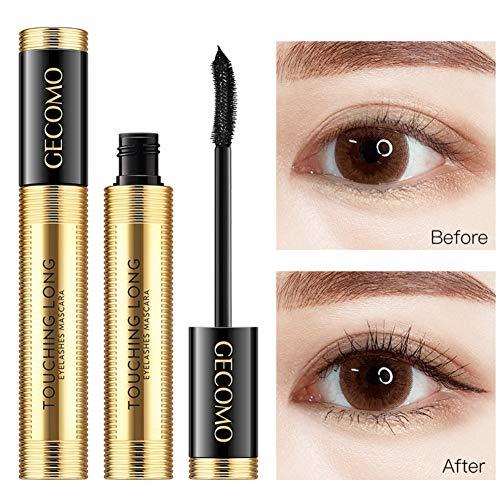 ColorfulLaVie Gold Tube Mascara, Mascara Volume Cils Imperméable Longue Extension , Mascara de Curling de Longue Durée