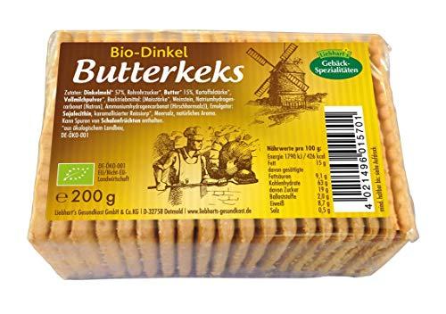 Liebhart´s Gesundkost Bio-Dinkel Butterkeks, 200 g