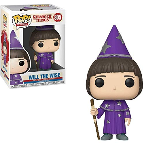 Funko Pop Television : Stranger Things – Will The Wise 3.75inch Vinyl Gift for Horror TV Fans SuperCollection