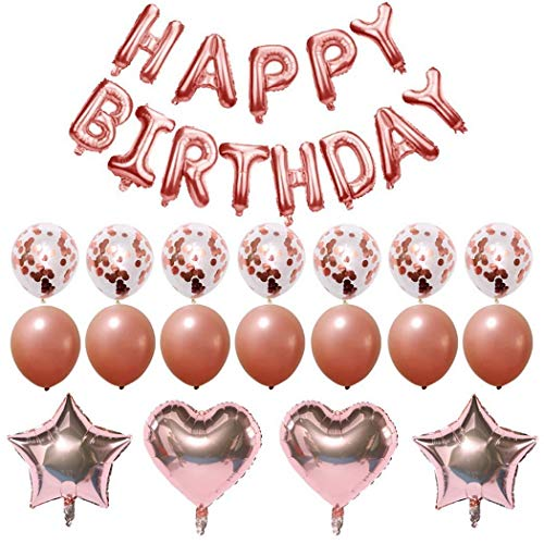Purchase GoodKE Happy Birthday Latex Balloon Set Party Decorations Supplies Balloons