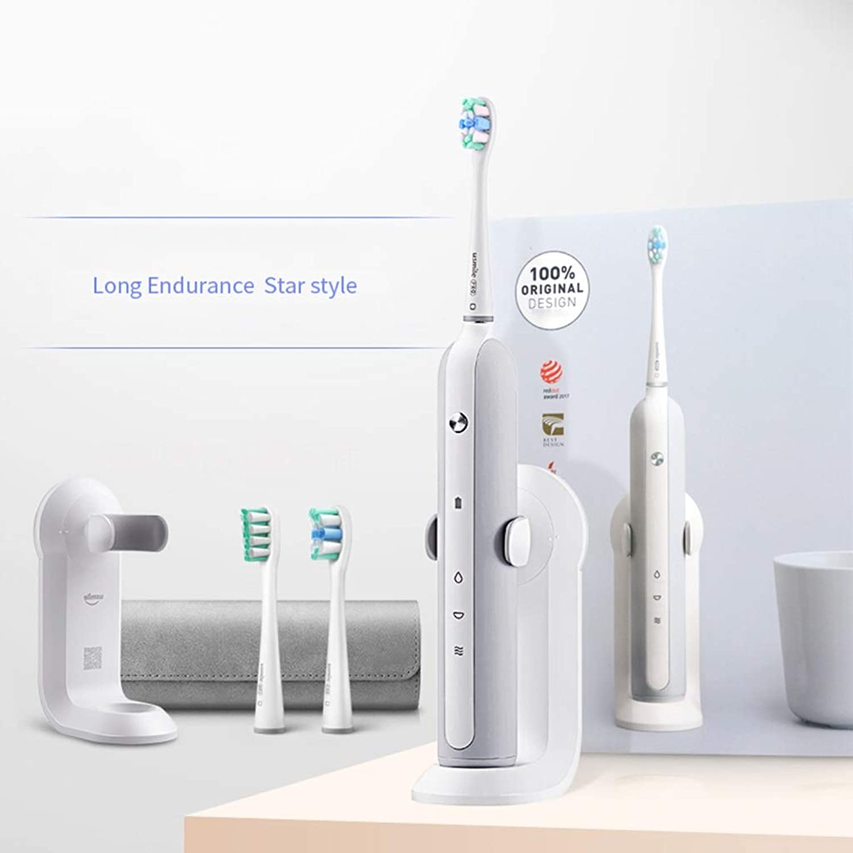 習字物語出発電動歯ブラシ 大人の電動歯ブラシ音波振動3時間の速い充満は歯の汚れの歯ブラシを取除きます (色 : B)