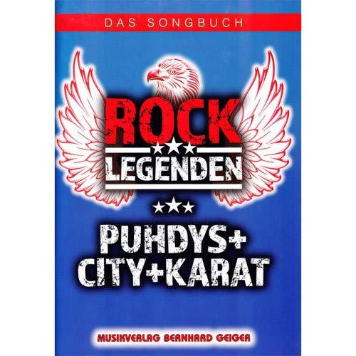 Music Service Geiger - Rock Legenden - Puhdys, City, Karat