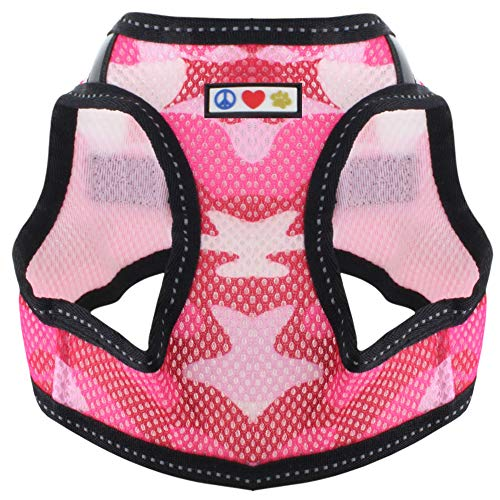 Pawtitas Pet Reflective Mesh Dog Harness,Step in or Vest Harness Dog Training Walking of YourPuppy/Dog - No More Pulling, Tugging, Choking M Neck 11