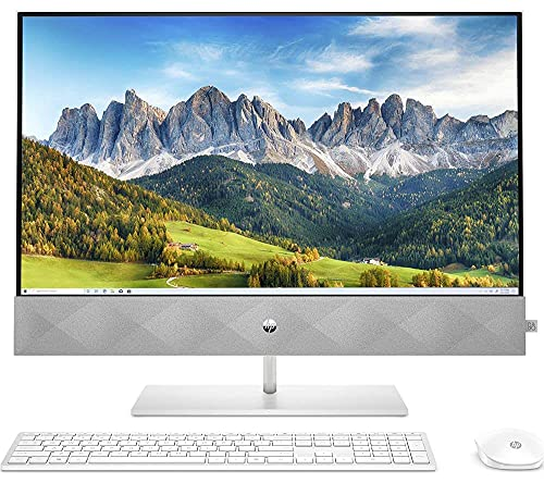 HP Pavilion 27-d0005na All in One PC 27' Full HD IPS 8-Core i7-10700T 8GB...