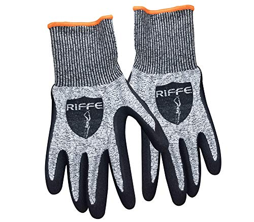 Riffe Holdfast Cut-Resistant Gloves - Large