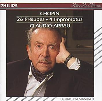 Chopin: 26 Preludes; 4 Impromptus