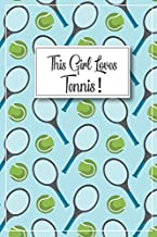 Tennis gift - Tennis Journal: Tennis gifts for women, tennis party gifts, tennis themed gifts, tennis graduation gift, ten...