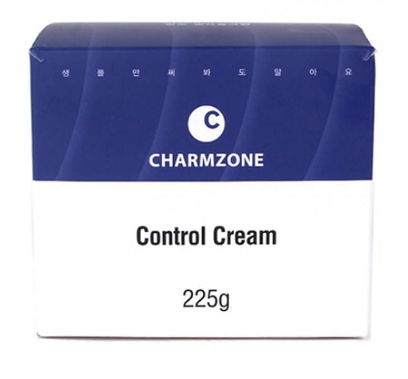 爆弾の中で石化する[チャムジョン] CharmZone コントロールクリーム マッサージ 栄養クリーム225g 海外直送品 (Control Cream Massage Nutrition Cream 225g)