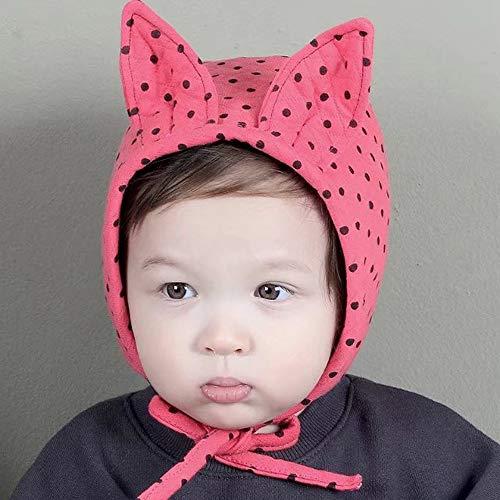 Toddler Fleece Lined Winter Earflap Beanie Hat, Knit Mittens or Hat & Mittens Set Cat Ear Cute Earbud Knit Hat Hairball Hat Newborn Baby Girl Boy