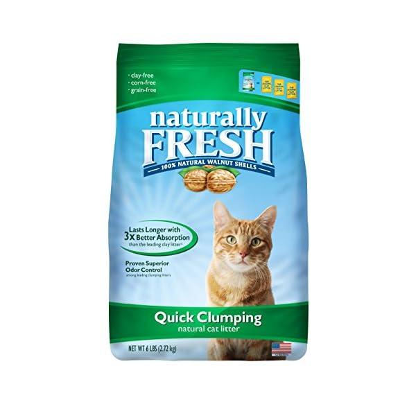 Naturally Fresh Cat Litter – Walnut-Based Quick-Clumping Unscented Kitty Litter