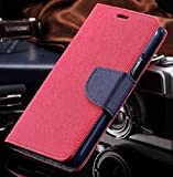 Thinkzy Artificial Leather Flip Cover Case for Lenovo Vibe K5 Note – Pink, Blue