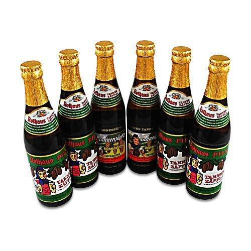 Rothaus Pils Tannenzäpfle (6 Flaschen Bier à 0,33 l / 5,1 % vol.)