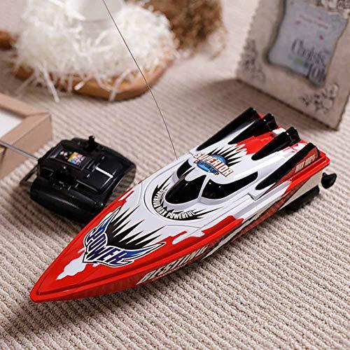 RC Boat Control Remoto de Alta Velocidad Electric Racing Boat Toys para niños Niños