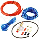 Kit de câbles audio RCA installation amplificateur subwoofer câblage câble auto...