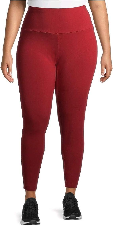 Terra & Sky Rustic Red Soft Ultimate Plus Size Full Length Legging