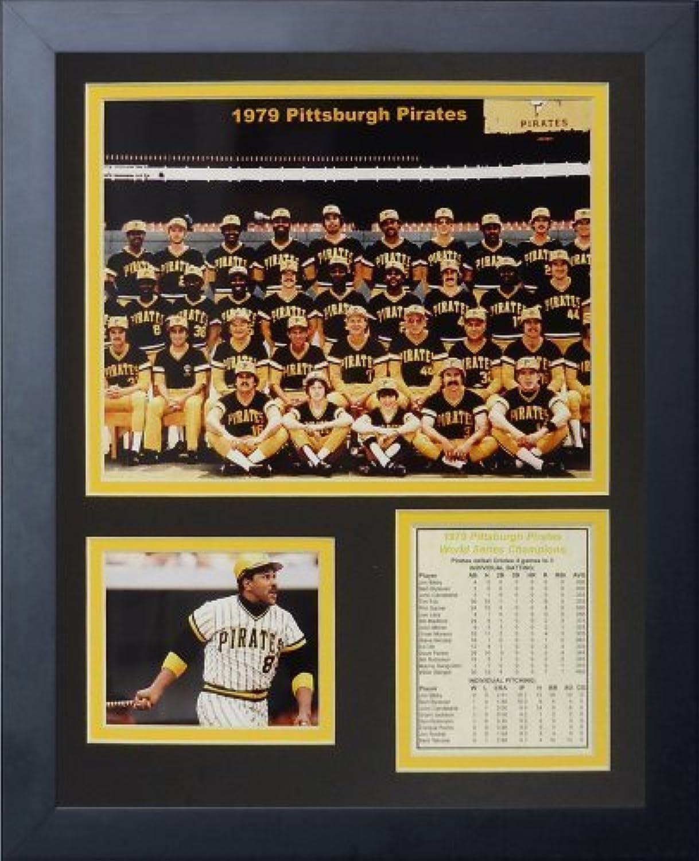 Legenden Sterben Nie  1979Pittsburgh Pirates  gerahmtes Foto Collage, 11x 35,6cm von Legends Never Die