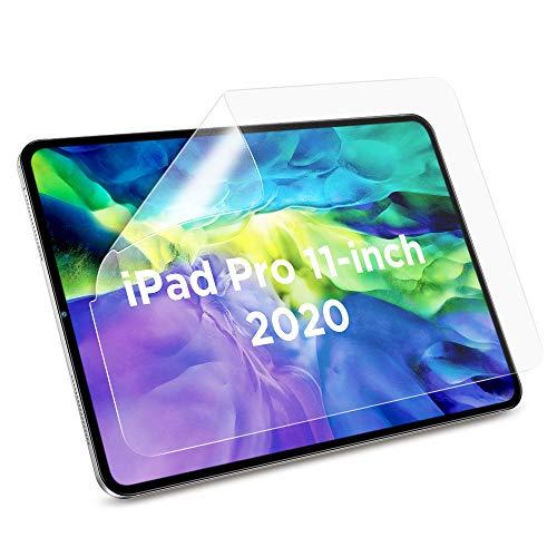 """ESR Protector de Pantalla Mate para iPad Pro 11"""" 2018 [3 Piezas], Alta Sensibilidad Táctil, Compatible con Apple Pencil, Antirreflejos, Resistente a Huellas, Pet Suave para iPad Pro 11 2018"""