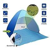 Zoom IMG-1 tenda da spiaggia pieghevole ultraleggera