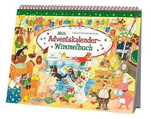 Mein Adventskalender-Wimmelbuch: zum Aufstellen