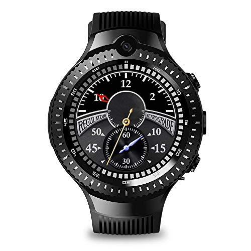 JIAJBG Fitness Tracker Thor 4 Dual Cámara Dual Bluetooth Smart Watch Watch Watch 4G 4G 1 + 16G Memoria Grande Sport Fitness Tracker Exquisito/F