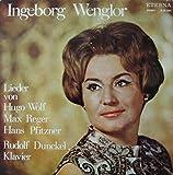 Ingeborg Wenlor / Lieder von Hugo Wolf , Max Reger , Hans Pfitzner , Rudolf Dunckel , Klavier / 825654 / LP / Schallplatte / Vinyl