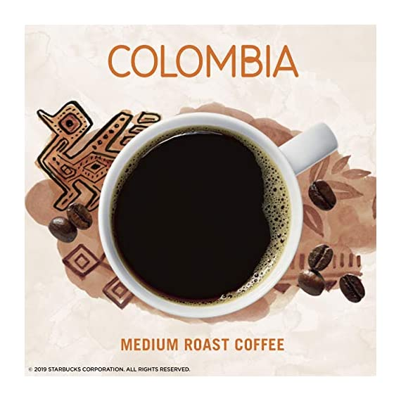 Starbucks VIA Ready Brew Colombia Coffee, 50-Count 2 Made only with high-quality arabica coffee beans Starbucks via instant Italian Roast coffee is roast and sweet with a rich, deep flavor and notes of caramelized sugar Just tear open a packet of Starbucks via instant Italian Roast coffee, add hot water, wait 10 seconds and stir. No coffee machine or grinder needed