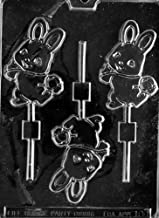 Cybrtrayd Life of the Party E108 Cute Bunny with Basket Easter Chocolate Candy Mold in Sealed Protective Poly Bag Imprinted with Copyrighted Cybrtrayd Molding Instructions