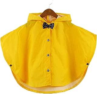 Juleya Principessa Bow Bambini Poncho Spesso Nylon Bambini Raincoat