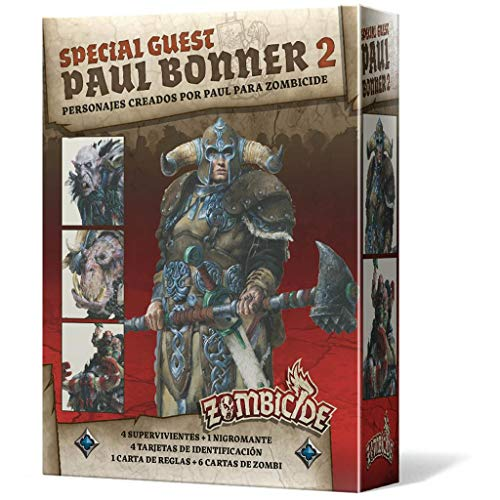 Edge Entertainment- Zombicide Black Plague - Green Horde Special Guest: Paul Bonner 2 ES ES, Colour (EECMZB43)