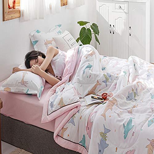 Bed deken deken deken kinderen deken lakens sprei beddengoed sofa slaapkamer woonkamer bureaustoel balkon bed reizen camping roze