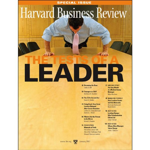 Harvard Business Review cover art