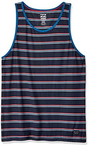 BILLABONG Herren Die Cut Tank T-Shirt, blau, Klein