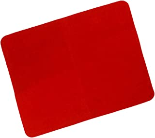 WSNMING Professional Card Mat Red Pad for Poker & Coin Magic Tricks Magic Props Standard Size