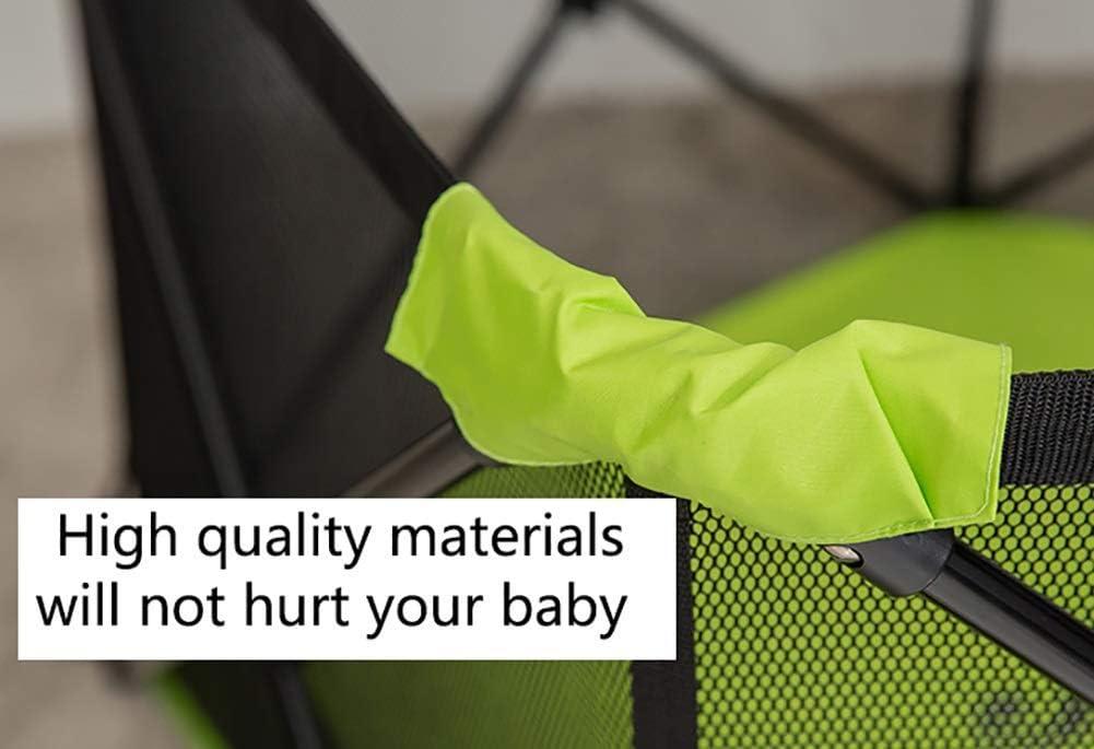 kaige 5 Panneau de Jeu for bébé Clôture Jeu Clôture Pliable sécurité Enfant Clôture Jeu clôture bébé (Couleur: Bleu) WKY (Color : Green) Green