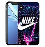Toxdi Just Do It Logo iPhone XR Funda, Carcasa Silicona Protector Anti-Choque Ultra-Delgado Anti-arañazos Case Caso para Teléfono iPhone XR, Nik000