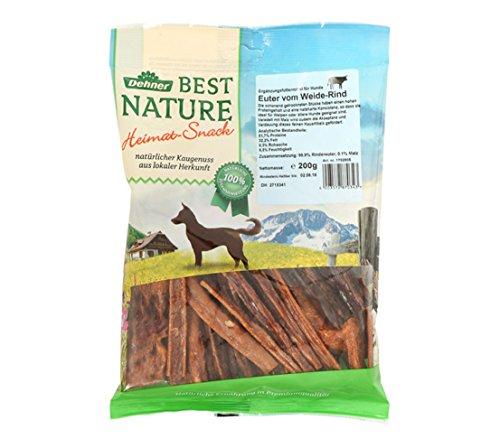 Dehner Best Nature Hundesnack, Rindereuter, 200 g