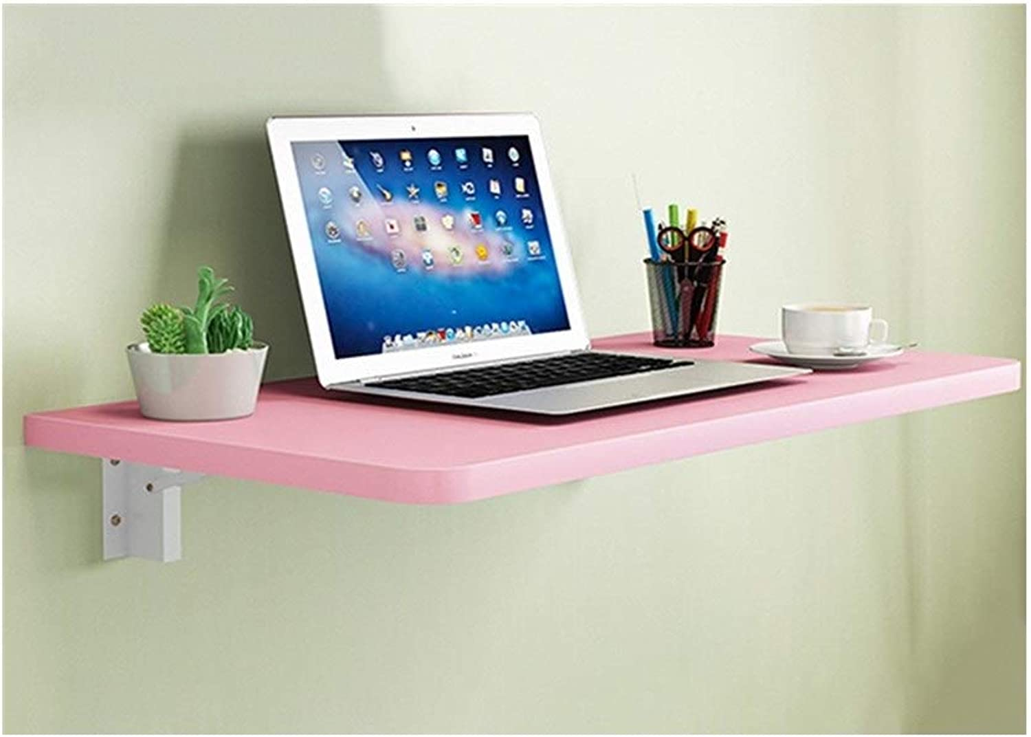 LQQGXLPortable Folding Table Wall-Mounted Computer Desk, Folding Dining Table, Multi-Functional Desk, Wall Desk, (color   A, Size   8030cm)
