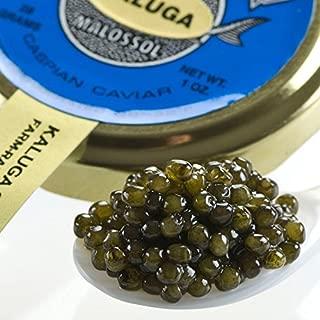 Kaluga Fusion Amber Caviar - 1.75 oz jar