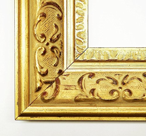 Online Galerie Bingold Specchio da Parete–Specchio–Chateau Gold 7,3–Dimensioni Esterne dello Specchio 20X 120–Vera–in Legno