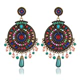 Bohemian Multicolor Party Wear Earrings