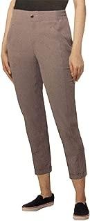 MPG Mondetta Performance Gear Women's Cuffed Travel Capri Pants (Titanium, Medium)