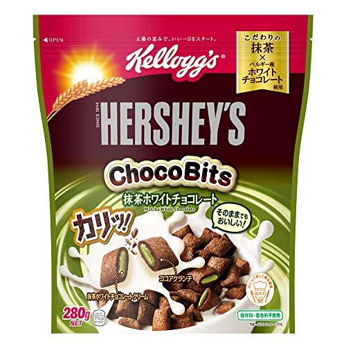 ハーシー チョコビッツ 抹茶ホワイトチョコレート 280g 6袋