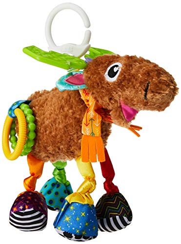 Product Image of the Lamaze Mortimer The Moose, Clip On Toy