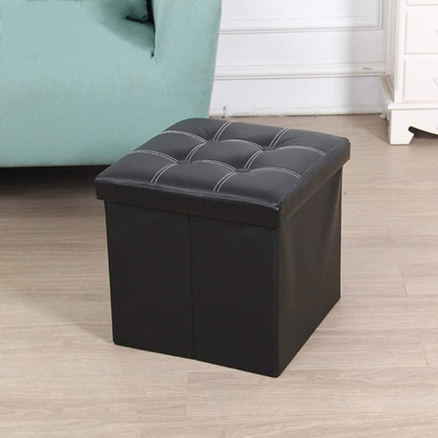 ZhiGe Storage seat,Multi-color Optional for Multifunctional Foldable Storage Bench Change shoes Stool