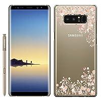 [Breeze-正規品] iPhone ・ スマホケース ポリカーボネイト [透明-Pink] Samsung Galaxy NOTE8 ケース SC-01K/SCV37 兼用 ギャラクシーノート8 galaxy note8 ケースカバー 液晶保護フィルム付 [GNT8] [GNT81810IT]