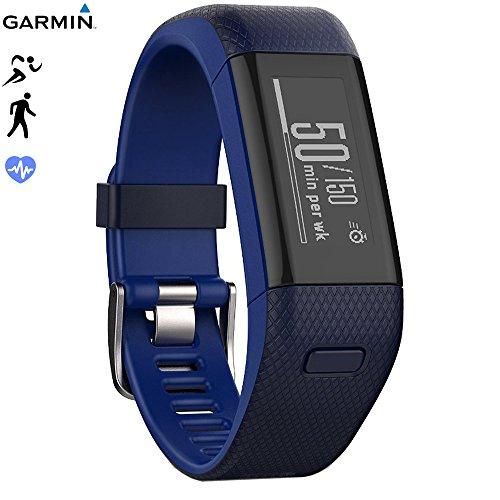 Garmin Vivosmart HR+ Activity Tracker Regular Fit, Black (010-N1955-36) - (Certified Refurbished)