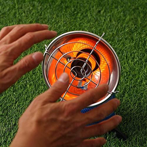 Ablerfly Gasheizung Gasstrahler Heizung Outdoor Zelten Wohnwagen Camping Brenner, Tragbare Propangasheizung Elektronische Zündheizung für Warme Winter wonderfully