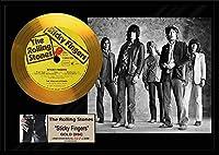 ローリング・ストーンズ/The Rolling Stones/Sticky Fingers/ゴールドディスク 証明書付き [並行輸入品]